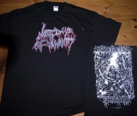 LAST DAYS OF HUMANITY - Logo + Putrefaction Remains - T-Shirt Size L