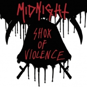 "MIDNIGHT - 12"" MLP - Shox Of Violence (Black Vinyl)"