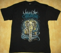 MILKING THE GOATMACHINE - yellow Goat - T-Shirt size M
