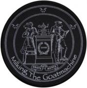 MILKING THE GOATMCHINE - Goat Et Manus - woven Patch