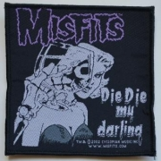 MISFITS - Die Die My Darling - woven Patch