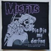 MISFITS - Die Die My Darling - woven Patch