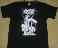 NO ONE GETS OUT ALIVE - Hunting Humans - T-Shirt Größe XXL (2nd Hand)