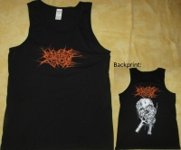 NO ONE GETS OUT ALIVE - Pitchfork Skull - Tank Top size XL