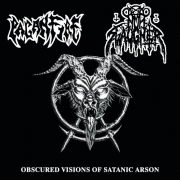 NUNSLAUGHTER / PAGANFIRE - split CD - Obscured Visions Of Satanic Arson