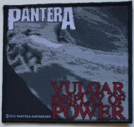 PANTERA - Vulgar Display of Power - woven Patch