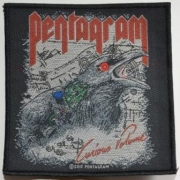 PENTAGRAM - Curious Volume - Woven Patch