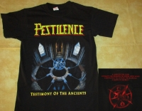 PESTILENCE - Testimony of the Ancients - T-Shirt size XL
