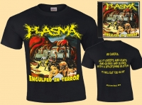 Bundle: PLASMA - Engulfed in Terror - T-Shirt + CD