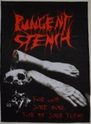 PUNGENT STENCH - For God Your Soul…For Me Your Flesh - Backpatch