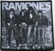 RAMONES - Ramones Band 76 - woven Patch