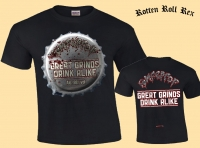 ROMPEPROP - Great Grinds Drink Alike - Black T-Shirt
