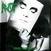 ROT - Gatefold 12'' LP - Cruel Face Of Life (dark violet randomly colored Vinyl)