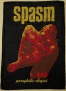 SPASM - Paraphilic Elegies - gewebter Patch