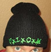 UxLxCxM - woolen Hat - green Logo