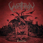 VARATHRON - Gatefold 12'' LP - Crowsreign (Black Vinyl)