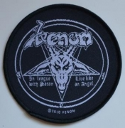 VENOM - In League With Satan - woven Patch