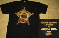 VISCERA TRAIL - Star - T-Shirt - size XXL (2nd Hand)