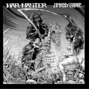 "WAR MASTER / UNHOLY GRAVE - 12"" split LP -"