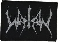 WATAIN - silver Logo - woven Patch