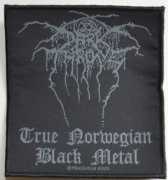 DARKTHRONE - True Norwegian Black Metal - woven Patch