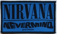 NIRVANA - Nevermind - woven Patch
