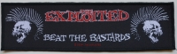 THE EXPLOITED - Beat The Bastards - woven Patch