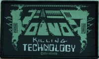 VOIVOD - Killing Technology - woven Patch