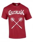 GUTALAX - toilet brushes - cardinal red T-Shirt