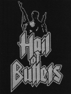 HAIL OF BULLETS -Logo- Woven Patch