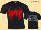 KRAANIUM - Rest in Power - red Logo T-Shirt