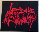 LAST DAYS OF HUMANITY - Logo - gestickter Patch