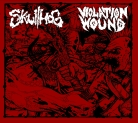 SKULLHOG / VIOLATION WOUND - split CD -