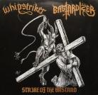 WHIPSTRIKER / BASTARDIZER -split 10'' EP -  Strike Of The Bastard