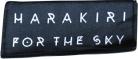 HARAKIRI FOR THE SKY - Logo - woven Patch