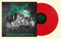 BLOOD - 12'' LP - Mental Conflicts (clear red Vinyl) ---- PRE-ORDER