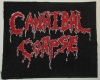 CANNIBAL CORPSE - gestickter Patch