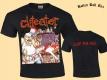 CLITEATER - Clit em all - T-Shirt Größe XXXL