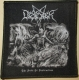 DESASTER - The Art of Destruction - woven Patch