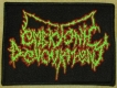 EMBRYONIC DEVOURMENT - embroidered Patch