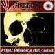 GRUESOME STUFF RELISH / NECROCANNIBALISTIC VOMITORIUM - split 7'' EP - (black Vinyl)
