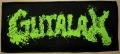 GUTALAX - green Logo - großer gewebter Patch