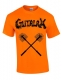 GUTALAX - toilet brushes - savety orange T-Shirt Größe L