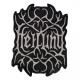 HEILUNG - cutted Logo - gewebter Aufnäher