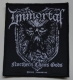 IMMORTAL - Nothern Chaos Gods - woven Patch