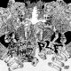 LAST DAYS OF HUMANITY / P.L.F. - split 12'' LP -