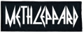 METH LEPPARD - embroidered logo Patch