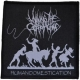 MILKING THE GOATMCHINE - Human Domestication - woven Patch