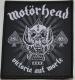 MOTORHEAD - Victoria Aut Morte 1975-2015 - woven Patch