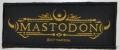 MASTODON - Logo - woven Patch